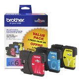 Brother LC613PKS Original Ink Cartridge Combo C/M/Y