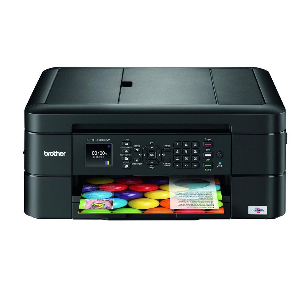 Brother MFC-J480DW Wireless and duplex Colour Inkjet  4-in-1 Printer with Fax