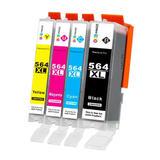 Compatible HP 564XL Ink Cartridge Combo BK/C/M/Y - Economical Box