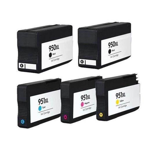 Compatible Hp 950xl 951xl Ink Cartridge Combo High Yield