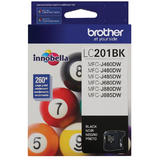 Brother LC201BK Original Black Ink Cartridge