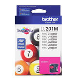 Brother LC201M Original Magenta Ink Cartridge