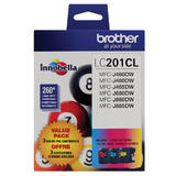 Brother LC2013PKS Original Color Ink Cartridge Combo C/M/Y