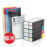Canon PGI-1200XL Compatible Ink Cartridge Combo High Yield BK/C/M/Y - Moustache®