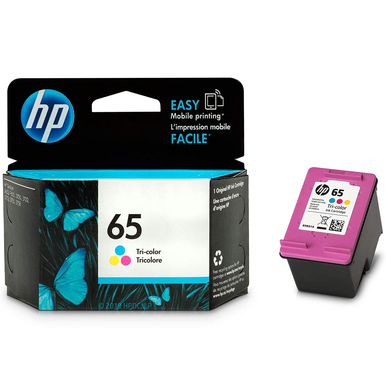 HP 65 N9K01AN Original Tri-Color Ink Cartridge at ...