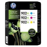 HP 902XL T0A41BN Original Ink Cartridge Combo High Yield C/M/Y