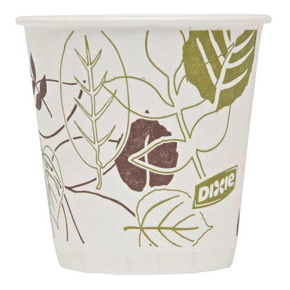 Dixie 174 3 Oz Wax Treated Cold Drink Paper Cups Package