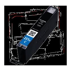Canon CLI-251XL Compatible Cyan Ink Cartridge - Economical Box
