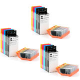 Canon PGI225 CLI226 Compatible Cartridge Combo 15 Inks - Moustache®