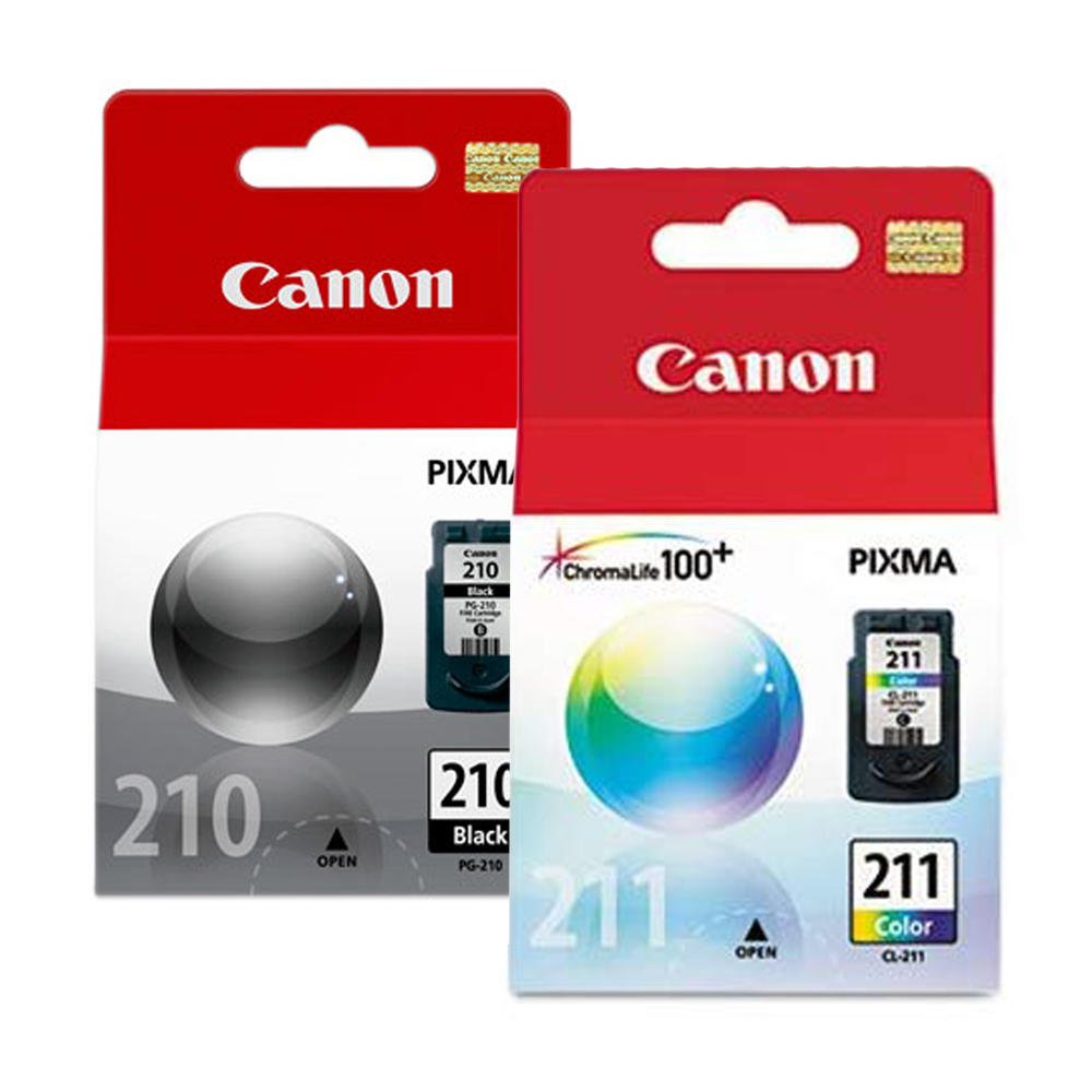 Canon PG-210 CL-211 Original Ink Cartridge Combo