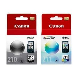 Canon PG210 CL211 Original Ink Cartridge Combo