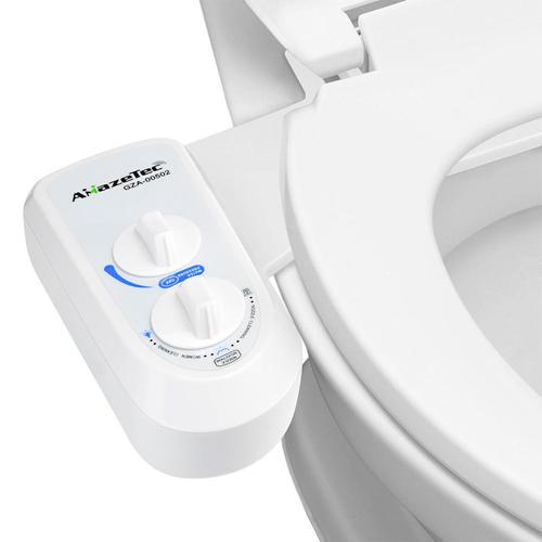 bidet de toilette non lectrique avec lavage des femmes contr le de la pression de l 39 eau amazetec. Black Bedroom Furniture Sets. Home Design Ideas