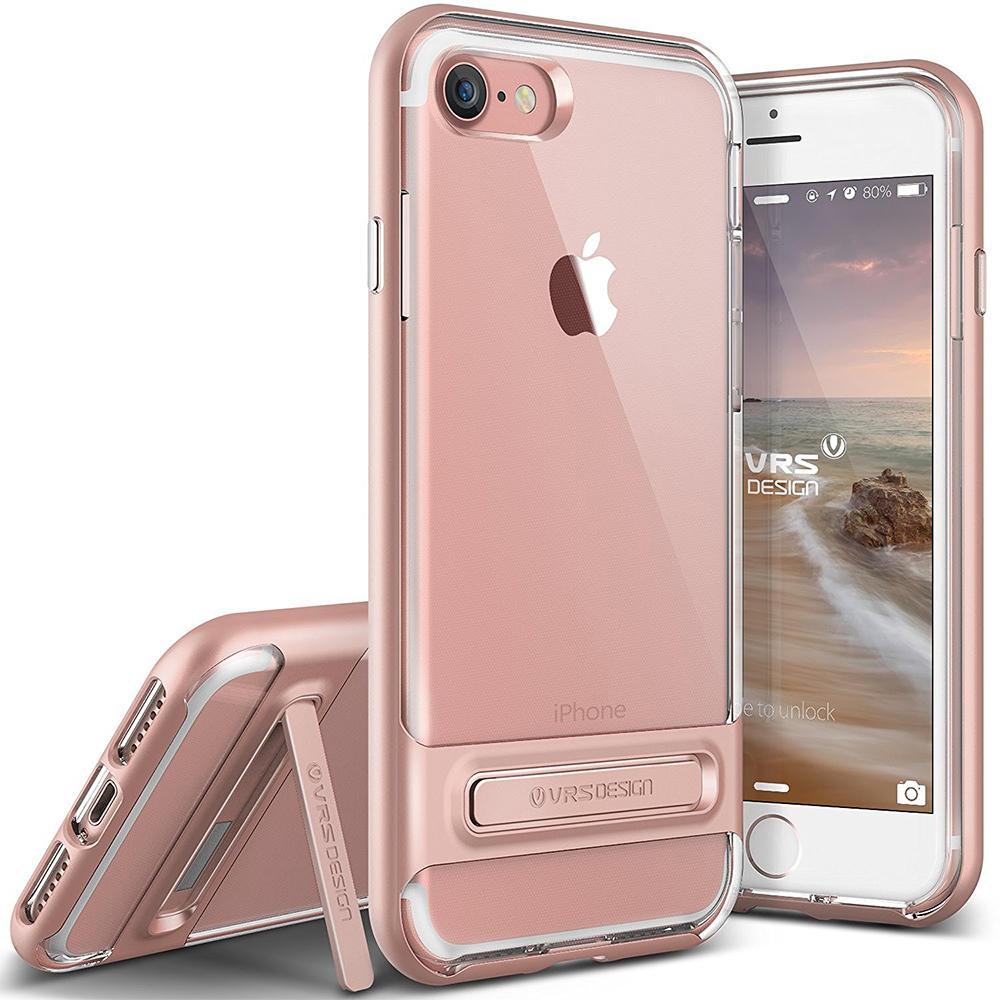 Sapiensman Consumer Electronics Goospery Iphone 7 Plus Sky Slide Bumper Case Rosegold Vrs Design Crystal