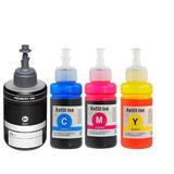 Epson T774 T664 Compatible Ink Cartridge Combo BK/C/M/Y
