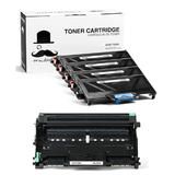 Brother TN360 DR360 Compatible Toner Cartridge and Drum Combo - Moustache®