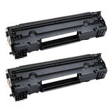 Compatible HP 83A CF283A Black Toner Cartridge - Economical Box