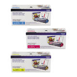 Brother TN221 Original Toner Cartridge Combo Set C/M/Y