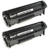 Compatible HP 12A Q2612A Black Toner Cartridge - Economical Box