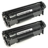 Compatible HP 12X Q2612X Black Toner Cartridge High Yield - Economical Box
