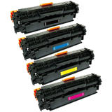 Canon 131 Compatible Toner Cartridge Combo BK/C/M/Y - Economical Box