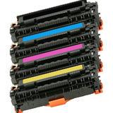 Canon 118 Compatible Toner Cartridge Combo BK/C/M/Y - Economical Box