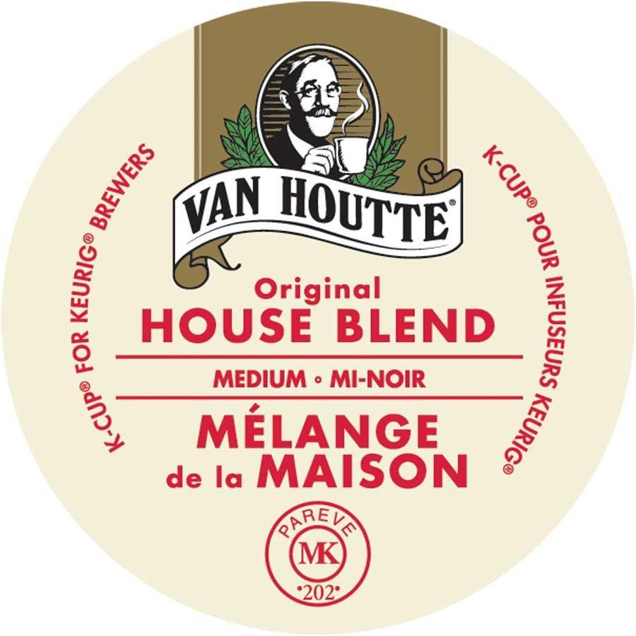 Van Houtte Coffee K-Cup Pod, 24 Count