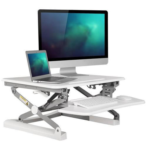 Sit Standing Height Adjustable Desk Ergo Riser Adr For