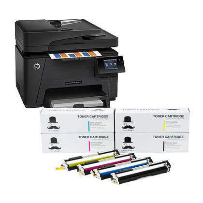 Print professional color marketing materials for up to 50% lower cost per page than lasers with an e-all-in-one engineered for business printing. Keep business moving with fast print and scan speeds, and advanced mobile printing features.