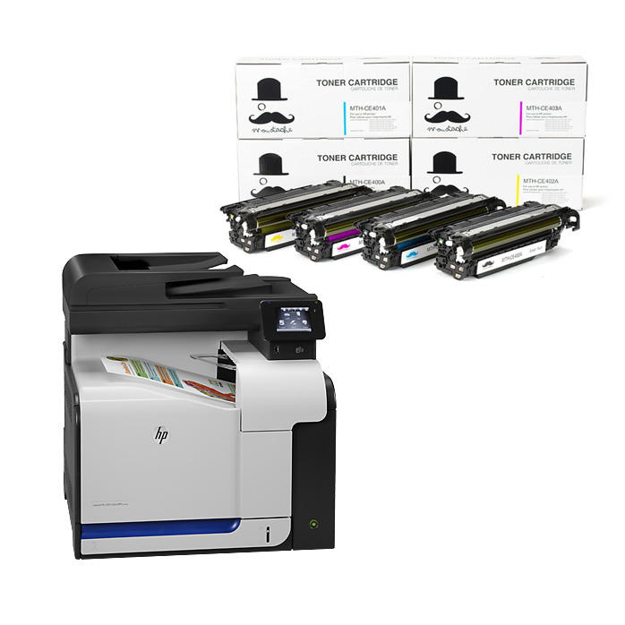 HP LaserJet Pro 500 Color MFP M570dn All In One Colour