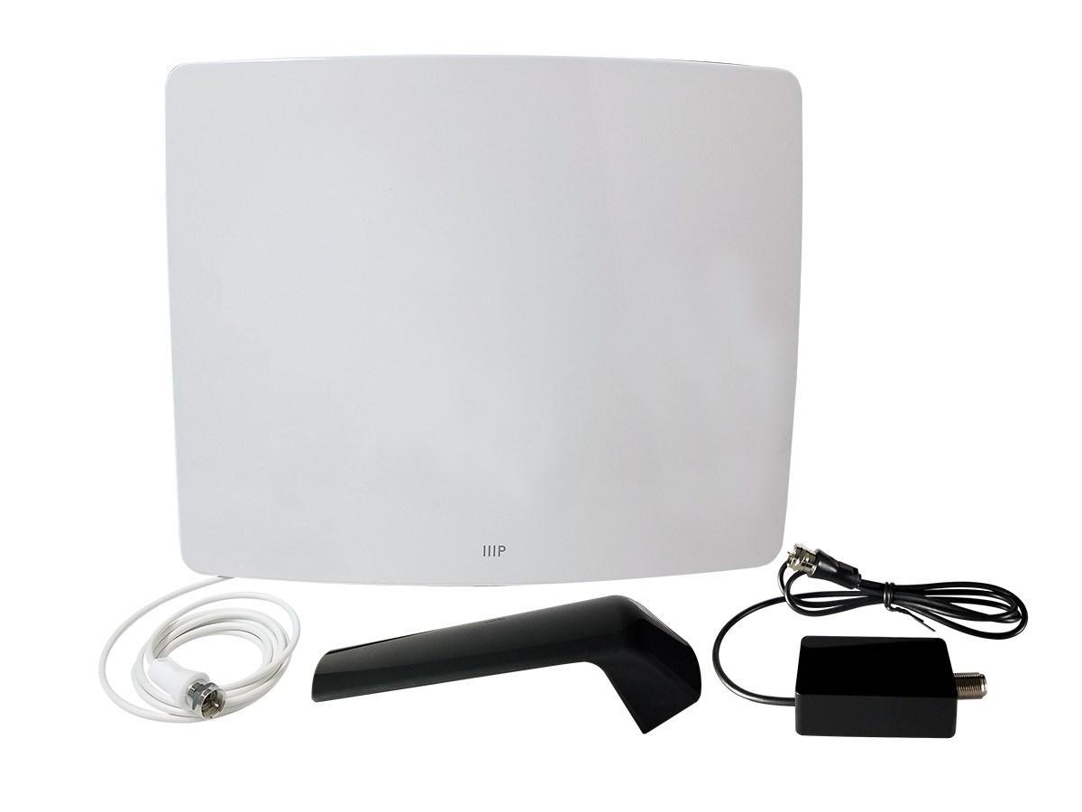 Active Curved HD5 HDTV Antenna, 60 Mile Range