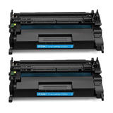 Compatible HP 26A CF226A Black Toner Cartridge 2 Pack - Economical Box