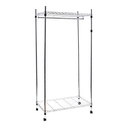 205316924 furthermore Metal Wall Mount Shelf also P 358175 Sw Ws 180001cw Sortwise New Chrome 2 Tier Rolling Clothing Garment Rack Shelving moreover 2014 also Currituck Club. on rolling organizer