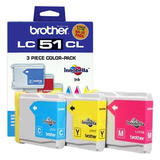 Brother LC513PKS Original Tricolor Ink Cartridge Combo C/M/Y