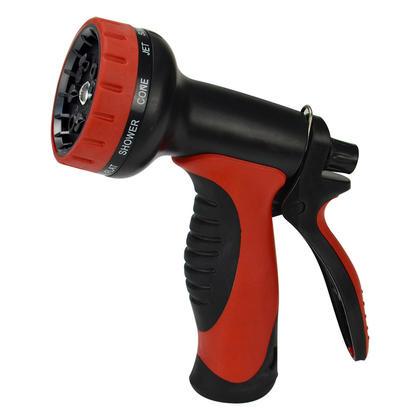 Amazetec 10 Pattern Garden Hose Nozzle High Pressure Hand Sprayer Watering Washing At