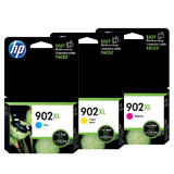 HP 902XL C/M/Y Original Ink Cartridge Combo Set (High Yield)