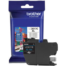 Brother LC3017C Original Cyan Ink Cartridge High Yield