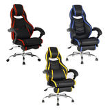 TygerClaw High Back PU Leather Executive Chair