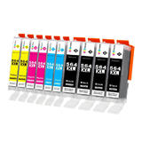 Compatible HP 564XL Ink Cartridge Combo High Yield - Economical Box - 10/Pack