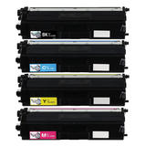 Brother TN436 Compatible Toner Cartridge Combo BK/C/M/Y Extra High Yield