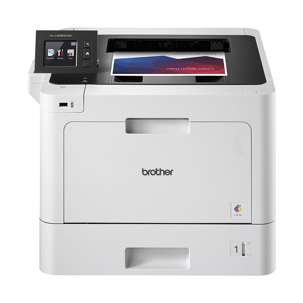 Brother HL-L8360CDW Wireless Single-Function Color Laser Printer