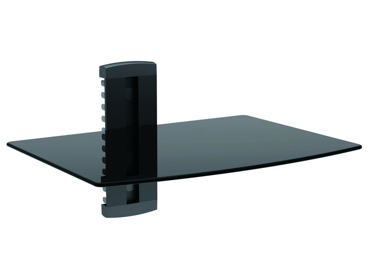 Single Shelf Wall Mount for TV Components, UL Certified Monoprice