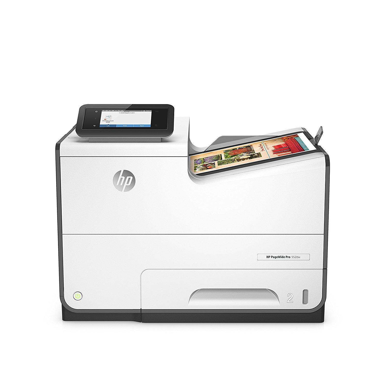 HP PageWide Pro 552dw Single-Function Colour Inkjet Printer (D3Q17A)