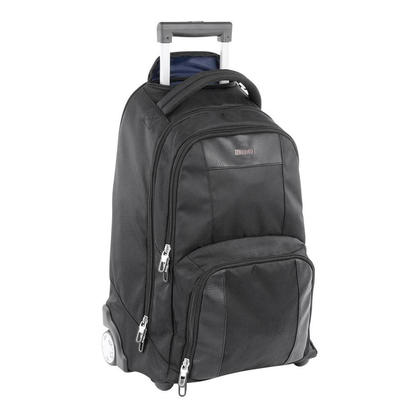 Bugatti 174 Gregory Polyester Backpack On Wheels Black