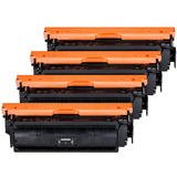 Canon 040 Compatible Toner Cartridge Combo BK/C/M/Y