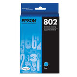 Epson T802 T802220-S Original DURABrite Ultra Cyan Ink Cartridge