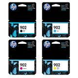 HP 902 T6L98AN T6L86AN T6L90AN T6L94AN Original Ink Cartridge Combo BK/C/M/Y