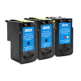 Canon PG-210 CL-211 Remanufactured Ink Cartridge Combo