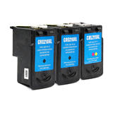 Canon PG-210XL CL-211XL Remanufactured Ink Cartridge Combo High Yield