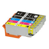 Epson T273XL Compatible Ink Cartridge Combo High Yield BK/PBK/C/M/Y - Economical Box