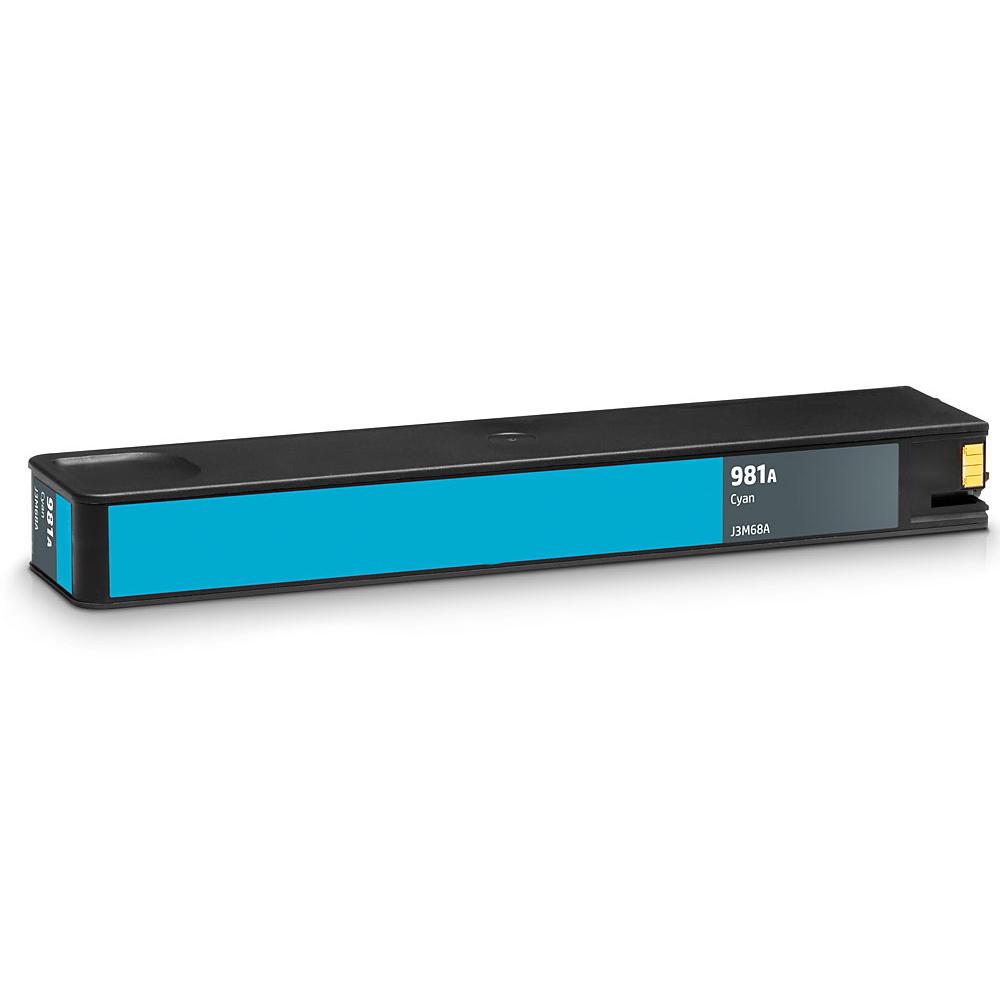 Remanufactured HP 981A J3M68A Cyan PageWide Ink Cartridge